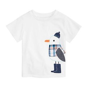 NWT First Impressions Penguin White T-Shirt 12mo